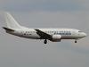Estonian Air Boeing 737-505 Borispol - Kiev - (UKBB / KBP), Ukraine ES-ABO cn:24646/2138 Апрель 5, 2010  Dmitry Karpezo