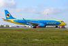 AeroSvit - Ukrainian Airlines (Dniproavia) Embraer ERJ-190STD (ERJ-190-100) Borispol - Kiev - (UKBB / KBP), Ukraine UR-DSA cn:19000494 ������� 19, 2012  Dmitro Kochubko