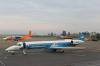 Dniproavia Embraer EMB-145EU Ivano-Frankovsk - (UKLI / IFO), Ukraine UR-DNF cn:145404 Июль 5, 2013  kReSt