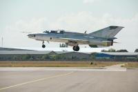 Croatia - Air Force Mikoyan-Gurevich MiG-21UM Odessa-Central - Odessa - (UKOO / ODS), Ukraine  cn: ������ 27, 2014  petr padalko