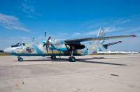 Ukraine - Air Force Antonov An-26 Borispol - Kiev - (UKBB / KBP), Ukraine 05 YELLOW cn:8206 ������ 30, 2014  Vasiliy Koba