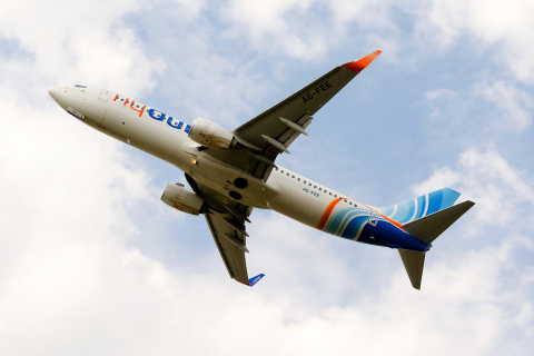 Fly Dubai Boeing 737-8KN Zhulyany - Kiev - (UKKK / IEV), Ukraine A6-FEE cn:40258 ������ 20, 2014  Pavel Kapustin