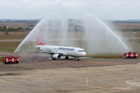 Turkish Airlines Airbus A320-232 Chernobayevka - Kherson - (UKOH / KHE), Ukraine TC-JPA cn:2609 ������� 15, 2014  Andrey Rakul