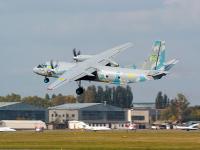 Ukraine - Air Force Antonov An-26 Zhulyany - Kiev - (UKKK / IEV), Ukraine 05 YELLOW cn:8206 �������� 27, 2014  Andriy Zukhar