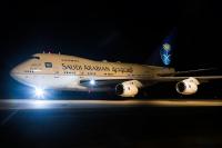 Saudi Arabian Royal Flight Boeing 747SP-68 Karlsruhe/Baden-Baden - (EDSB / FKB), Germany HZ-HM1B cn:21652/329 ������� 21, 2014  Vladimir Mikitarenko