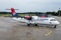 Air Serbia ATR ATR-72-500 (ATR-72-212A) Pula - (LDPL / PUY), Croatia YU-ALU cn:536 �������� 2, 2014  Grichkov Aleksei