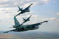 Ukraine - Air Force Sukhoi Su-25 In Flight, Ukraine  cn:  2013  Skywarrior