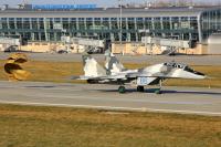 Ukraine - Air Force Mikoyan-Gurevich MiG-29UB (9-51) Sknilov - Lviv - (UKLL / LWO), Ukraine 86 BLUE cn: ������ 2014  Oleg Volkov