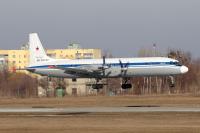 Russia - Air Force Ilyushin Il-18D Osnova - Kharkov - (UKHH / HRK), Ukraine RF-75496 cn:189011302 ������� 25, 2015  Alexander Datsenko