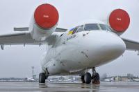 Motor Sich Airlines Antonov An-74TK-200 Zhulyany - Kiev - (UKKK / IEV), Ukraine UR-74026 cn:15-06 ���� 2, 2015  Vitaliy Nesenyuk