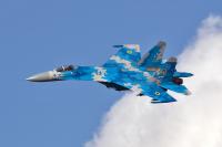 Ukraine - Air Force Sukhoi Su-27 Ozernoye - Zhitomir - (UKKO), Ukraine  cn: ���� 2015  Vladimir Vorobyov