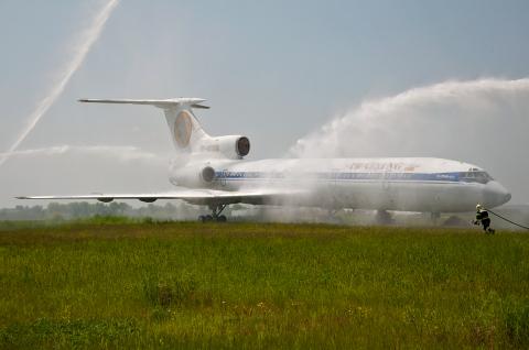 Untitled Tupolev Tu-154B-2 Borispol - Kiev - (UKBB / KBP), Ukraine  cn: ��� 20, 2015  Vasiliy Koba
