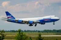Silk Way West Airlines Boeing 747-8F Borispol - Kiev - (UKBB / KBP), Ukraine VQ-BWY cn:60120 / 1521 ��� 25, 2016  Alexander Vaga