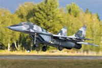 Ukraine - Air Force Mikoyan-Gurevich MiG-29UB (9-51) Vasilkov - (UKKW), Ukraine 99 WHITE cn:24178 �������� 23, 2016  Vitaliy Nesenyuk