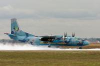 Ukraine - Air Force Antonov An-26 Borispol - Kiev - (UKBB / KBP), Ukraine 08 BLUE cn:6806 �������� 27, 2016  Olexandr Nasushnyi