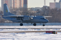 Ukraine - Air Force Antonov An-26Sh Zhulyany - Kiev - (UKKK / IEV), Ukraine 20 BLUE cn:3902 Декабрь 7, 2016  Evgeniy Kudinov