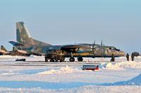Ukraine - Air Force Antonov An-26 Dnepropetrovsk - (UKDD / DNK), Ukraine 05 YELLOW cn:8206 Декабрь 2014  Pavel Kapustin