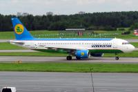 Uzbekistan Airways Airbus A320-214 Pulkovo - St. Petersburg - (ULLI / LED), Russia UK-32016 cn:4492 Август 1, 2016  Taras Bazhanskiy