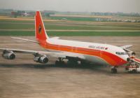 TAAG Angola Airlines Boeing 707-349C Oostende - Ostend - (EBOS / OST), Belgium D2-TOJ cn:19355 Июль 7, 1990  Torsten Maiwald