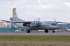 Kazakhstan - Air Force Antonov An-26 Zhulyany - Kiev - (UKKK / IEV), Ukraine 01 RED cn:9708 Март 27, 2017  Vitaliy Nesenyuk