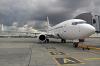 Airzena Georgian Airlines Boeing 737-7CT Borispol - Kiev - (UKBB / KBP), Ukraine EK73786 cn:35086 Апрель 14, 2017  Vladyslav Kysliakov