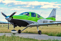 Untitled Cessna T240 Corvalis TTx Kamianka - Dnipro - (UKVK), Ukraine N812Q cn:T24002051 Июнь 16, 2017  Pavel Kapustin