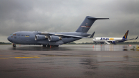 USA - Air Force Boeing C-17A Globemaster III Vilnius Intl - Vilnius - (EYVI / VNO), Lithuania 02-1100 cn:F-107/P-100 Июнь 11, 2017  Oleg V. Belyakov