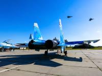 Ukraine - Air Force Sukhoi Su-27 Ivano-Frankovsk - (UKLI / IFO), Ukraine 58 BLUE cn:36911035612 Июль 17, 2017  Anton Krit
