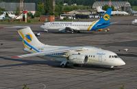 AeroSvit - Ukrainian Airlines Antonov An-148 Odessa-Central - Odessa - (UKOO / ODS), Ukraine UR-NTC cn:01-09 Июнь 21, 2011  petr padalko