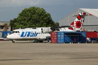 UTair Ukraine ATR 42-300 Monchengladbach - (EDLN / MGL), Germany UR-UTE cn:057 Июнь 7, 2017  Viktor Horst