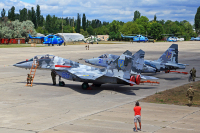 Ukraine - Air Force Mikoyan-Gurevich MiG-29UB (9-51) Kulbakino - Nikolayev - (UKOR), Ukraine 86 BLUE cn:50903018194 Июль 14, 2017  Sergey Smolentsev