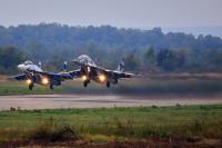 Ukraine - Air Force Mikoyan-Gurevich MiG-29 (9-13) Ivano-Frankovsk - (UKLI / IFO), Ukraine 09 BLUE cn:2960721108  2015  Sergey Smolentsev