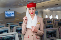 Emirates Steward - Aviation theme