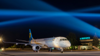 Ukraine International Airlines Embraer ERJ-190-100STD Dnepropetrovsk - (UKDD / DNK), Ukraine UR-EMA cn:19000494 Июль 5, 2017  Pavel Kapustin