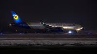 Ukraine International Airlines Boeing 777-2Q8(ER) Borispol - Kiev - (UKBB / KBP), Ukraine UR-GOA cn:29402/517 Февраль 16, 2018  Oleg V. Belyakov