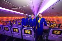 Ukraine International Airlines Steward - Aviation theme Borispol - Kiev - (UKBB / KBP), Ukraine UR-GOA cn:29402/517 Февраль 22, 2018  Oleg V. Belyakov
