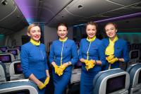 Ukraine International Airlines Steward - Aviation theme Borispol - Kiev - (UKBB / KBP), Ukraine UR-GOA cn:29402/517 Февраль 22, 2018  Dmitry Birin