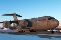 USA - Air Force Boeing C-17A Globemaster III Borispol - Kiev - (UKBB / KBP), Ukraine 07-7187 cn:F-204/P-187 Март 5, 2018  ALEX Pigariev