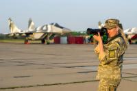 Ukraine - Air Force Girls - Aviation theme Unknown, Ukraine  cn:  2017  Vladimir Vorobyov