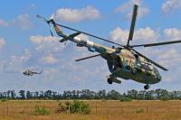 Ukraine - Army Mil Mi-8MT Off-Airport, Ukraine 84 RED cn: Июль 15, 2017  Sergey Smolentsev