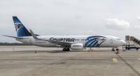 EgyptAir Express Boeing 737-866 Borispol - Kiev - (UKBB / KBP), Ukraine SU-GEG cn:63799 Февраль 21, 2018  Igor Salnikov