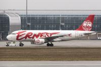 Ernest Airlines Airbus A319-111 Danylo Halytskyi - Lviv - (UKLL / LWO), Ukraine EI-FVG cn:1362 Март 16, 2018  Saper Vasja