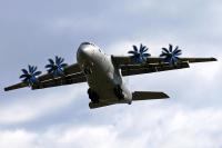 Ukraine - Air Force (Antonov Design Bureau) Antonov An-70 Gostomel (Antonov) - Kiev - (UKKM / GML), Ukraine 02 BLUE cn:770102 Апрель 20, 2018  Vitos