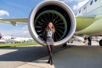 Air Baltic Girls - Aviation theme Schonefeld - Berlin - (EDDB / SXF), Germany YL-CSH cn:55016 Апрель 27, 2018  Vladimir Mikitarenko