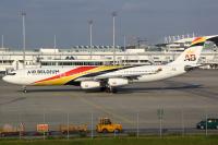 Air Belgium Airbus A340-313 Munich - (EDDM / MUC), Germany OO-ABB cn:844 Май 18, 2018  Flo Weiss