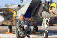 USA - Air Force Girls - Aviation theme Starokostyantyniv - (UKLS), Ukraine 84-0004 cn:919/C307 Октябрь 12, 2018  Sergey Smolentsev