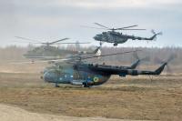 Ukraine - Army Mi-8MTV Off-Airport - Zhitomir, Ukraine 645 cn: Ноябрь 21, 2018  Vladimir Vorobyov