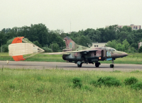 Ukraine - Air Force Mikoyan-Gurevich MiG-23UB Danylo Halytskyi - Lviv - (UKLL / LWO), Ukraine 64 BLUE cn:    NavigatorIL62
