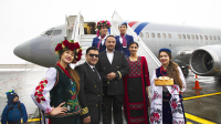 Jordan Aviation Crew - Aviation theme Kyiv Sikorsky - Kiev - (UKKK / IEV), Ukraine JY-JAY cn:29244 Декабрь 14, 2018  Oleg V. Belyakov