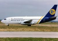 Ukraine International Airlines Boeing 737-2T4(Adv) Charles De Gaulle - Paris - (LFPG / CDG), France UR-GAD cn:22802/901 Июль 29, 1995  Torsten Maiwald